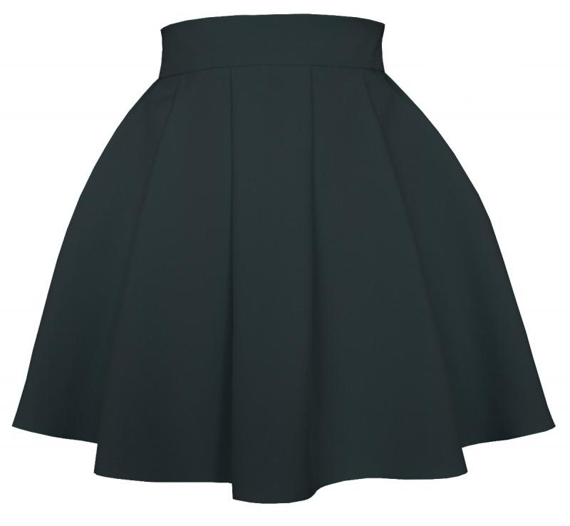 áčková sukňa, áčkové sukne, sukňa v áčkovom strihu, áčková mini sukňa, áčková sukňa čierna