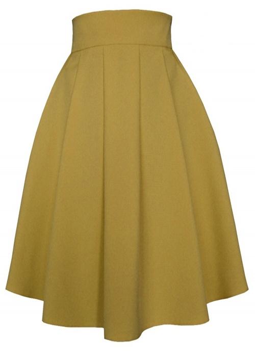 sukňa, sukna, spolocenske sukne, midi sukna, midi sukne, ackova sukna, áčková sukňa, damske sukne,skladana sukna, hnedá sukňa