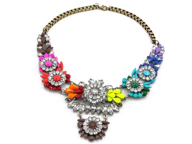náhrdelník, náhrdelníky, náhrdelníky bižutéria, bižutéria náhrdelníky, masívne náhrdelníky,veľké náhrdelníky, farebný náhrdelník,
