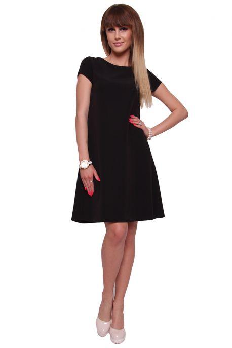 Koktejlové šaty CM448 čierne - Tentation.sk e303900ab5