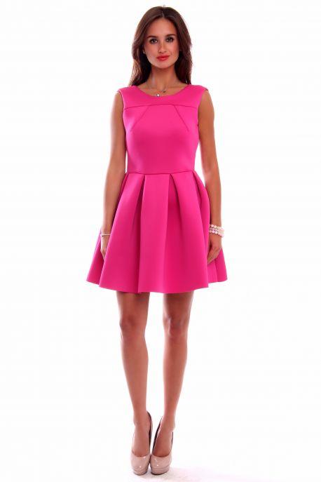 097e206ac1f0 Áčkové šaty CM259 ružové - Tentation.sk