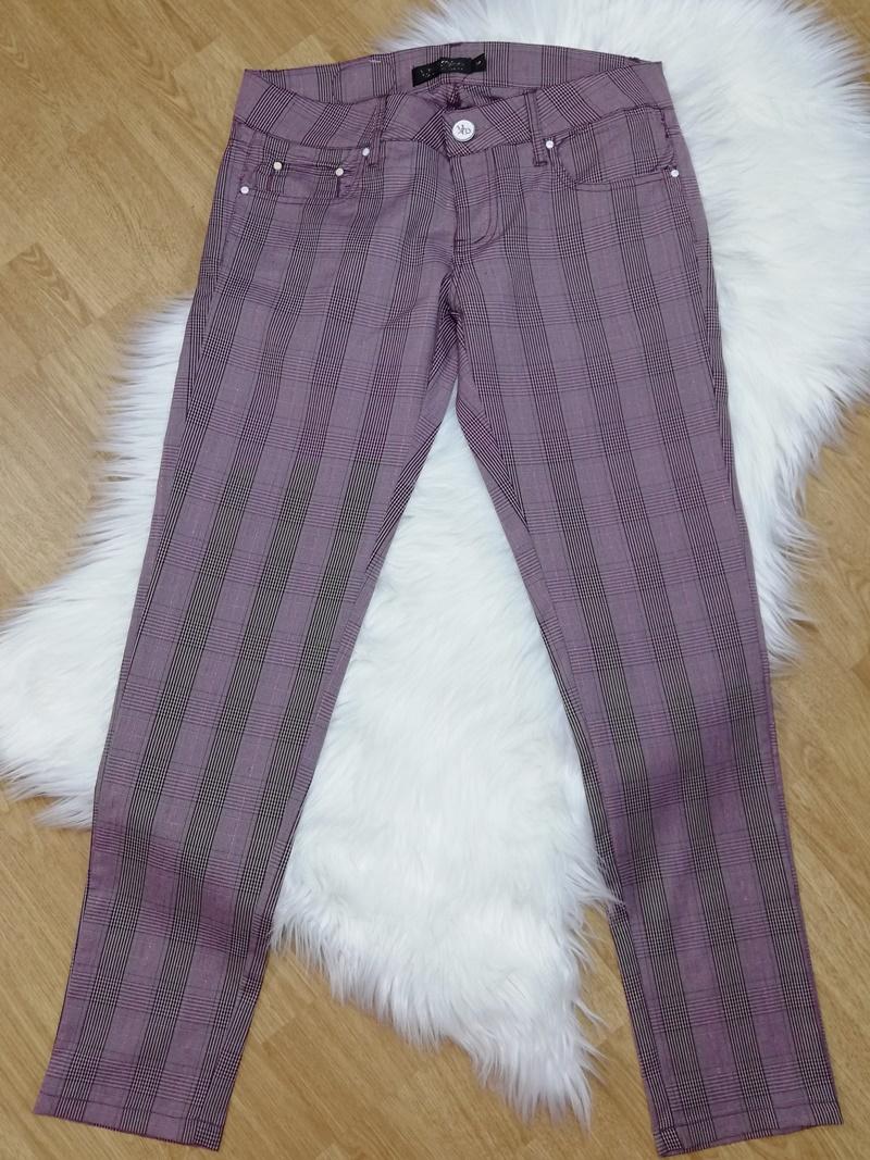 dámske nohavice, damske nohavice, nohavice damske, skinny nohavice, kárované nohavice, elegantné  dámske noohavice