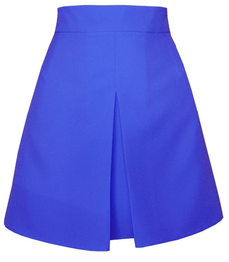 áčková sukňa,áčkové sukne, sukňa v áčkovom strihu,sukne v áčkovom strihu, áčková minisukňa, modrá áčková sukňa