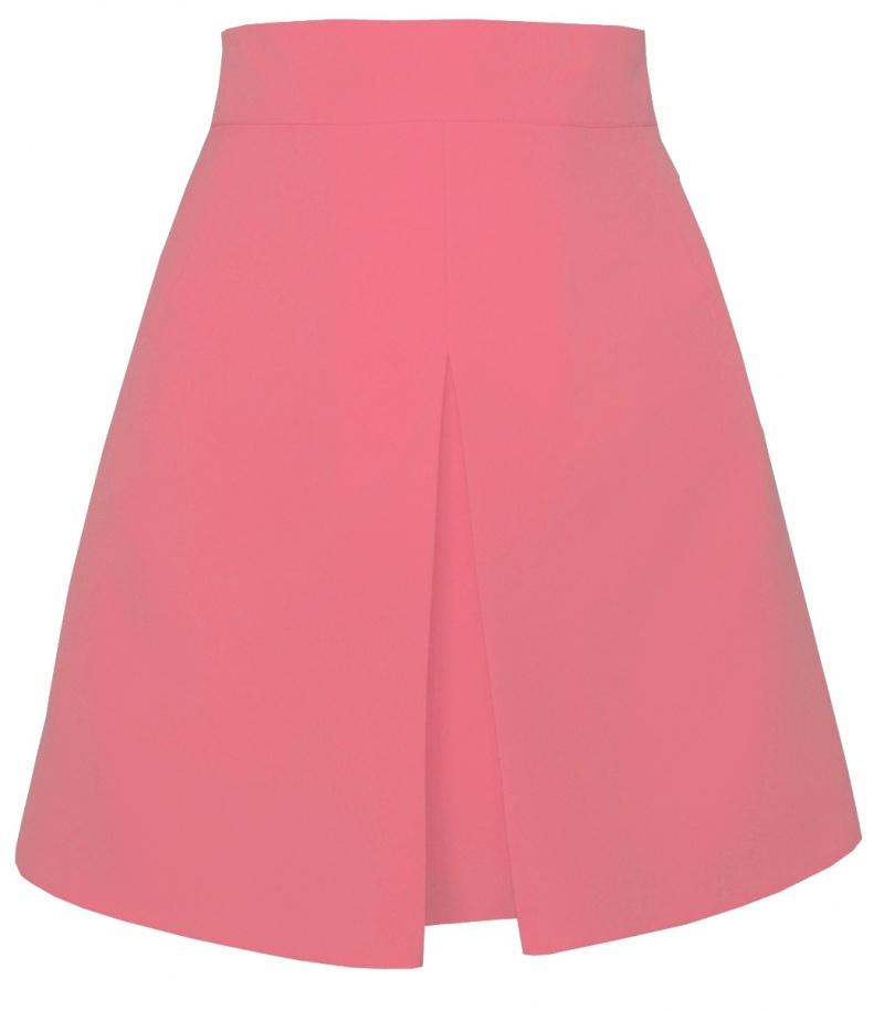 ružová áčková sukňa, áčková sukňa,áčkové sukne, sukňa v áčkovom strihu,sukne v áčkovom strihu, áčková minisukňa