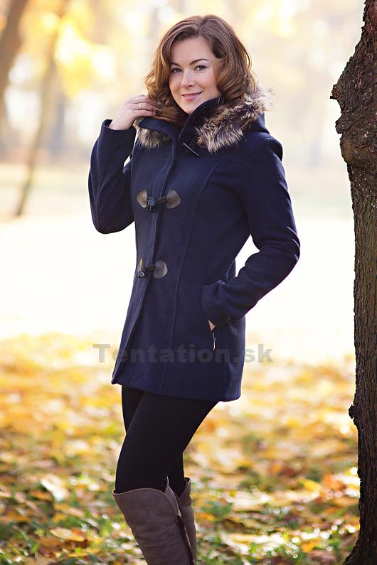 9b957d2175 Dámsky zimný kabát elegance-Tentation.ks