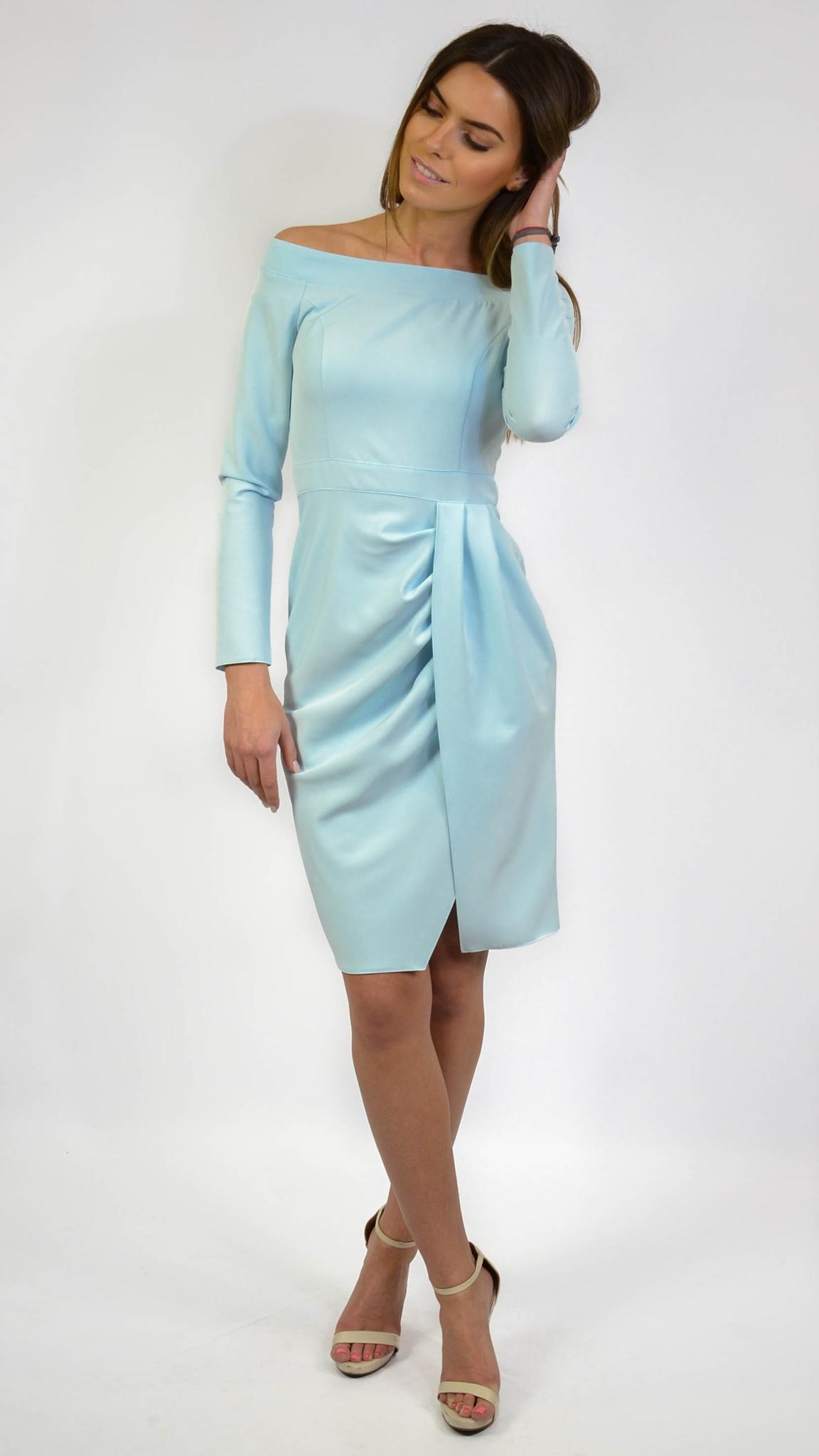 damske saty,dámske šaty,elegantné šaty,koktejlové šaty,koktejlove saty, puzdrové šaty,šaty na svadbu, modré šaty